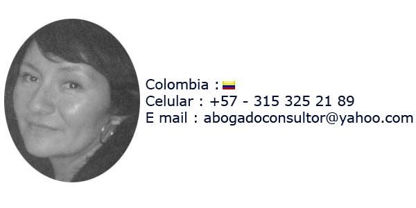 Sandra Jimenez Abogado Bogota Colombia